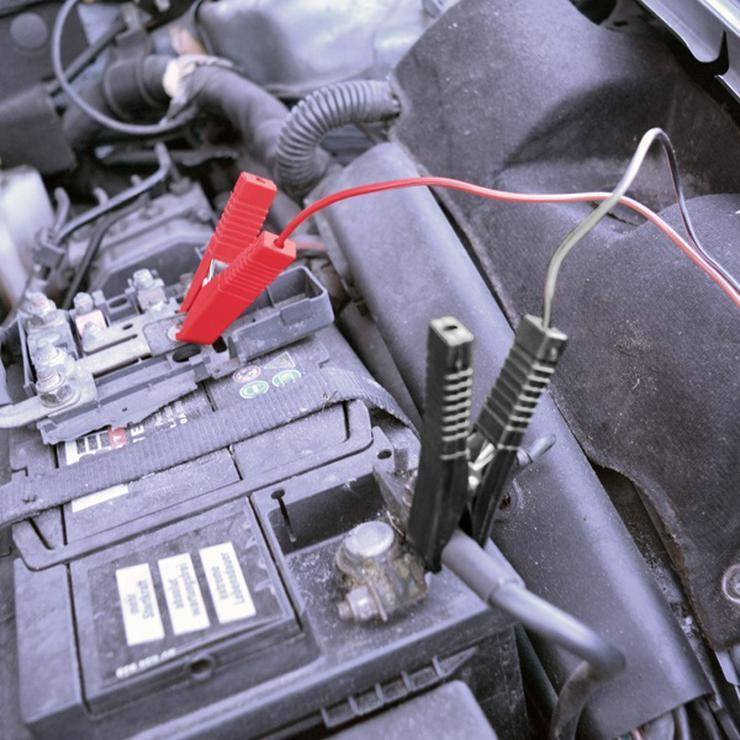 Carpoint Ladegerät (230 Volt - 12 Ampere) 20 cm schwarz - Pannenhilfe & Sicherheit - Bild 1