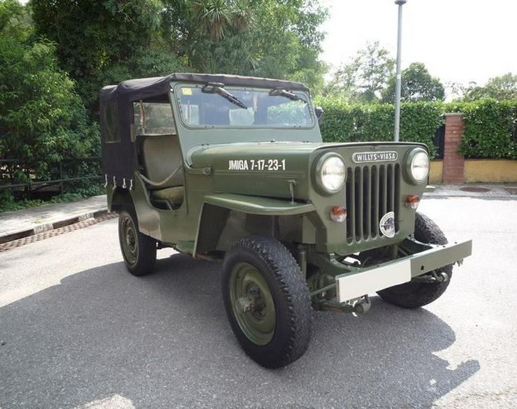 Jeep - Willys Viasa CJ3B