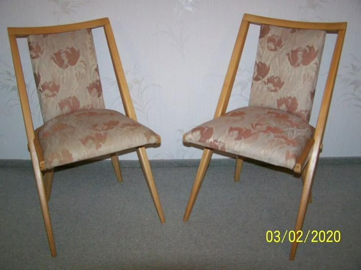 1955 DDR Design Polsterstühle Polsterstuhl Stühle Stuhl Sessel Möbel Hellerau Vintage Retro Antik