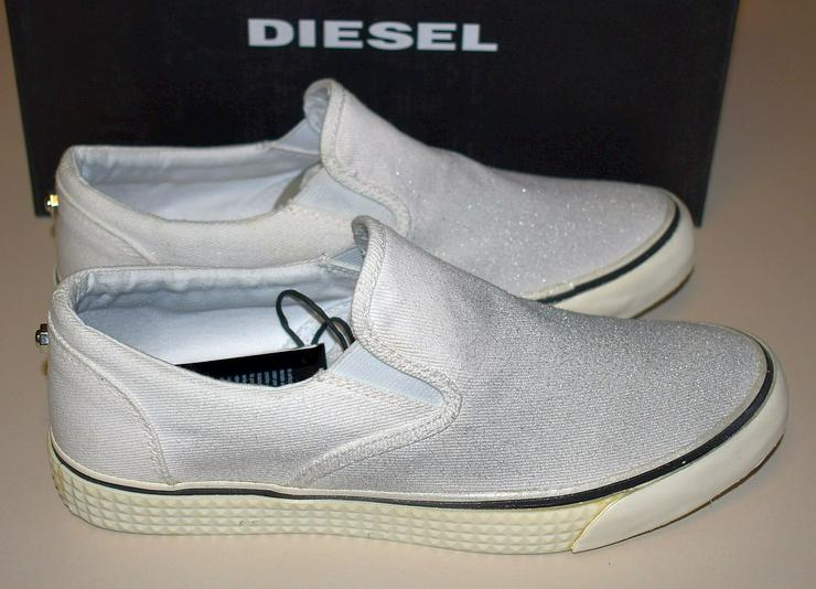 Bild 4: Diesel Damen Schuhe Gr.39 Slipper Vansis Y00970 Sneaker 20101902