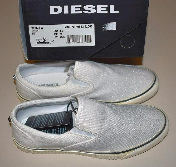 Bild 6: Diesel Damen Schuhe Gr.39 Slipper Vansis Y00970 Sneaker 20101902