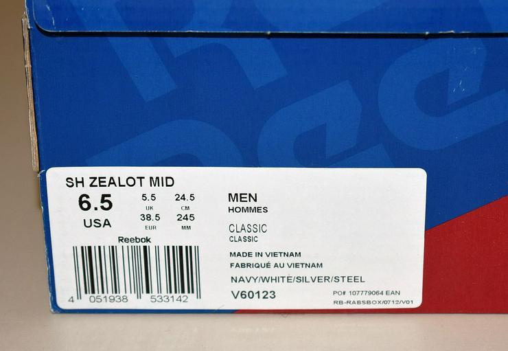 Bild 6: Reebok Classic SH Zealot MID Sneaker Gr. 38,5 Laufschuhe 24101902