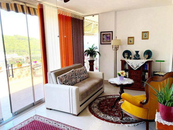 Bild 6: Türkei, Alanya, Kargicak. 165 m² Wohn. 3 Zi + Wintergarten, 399 ⛱