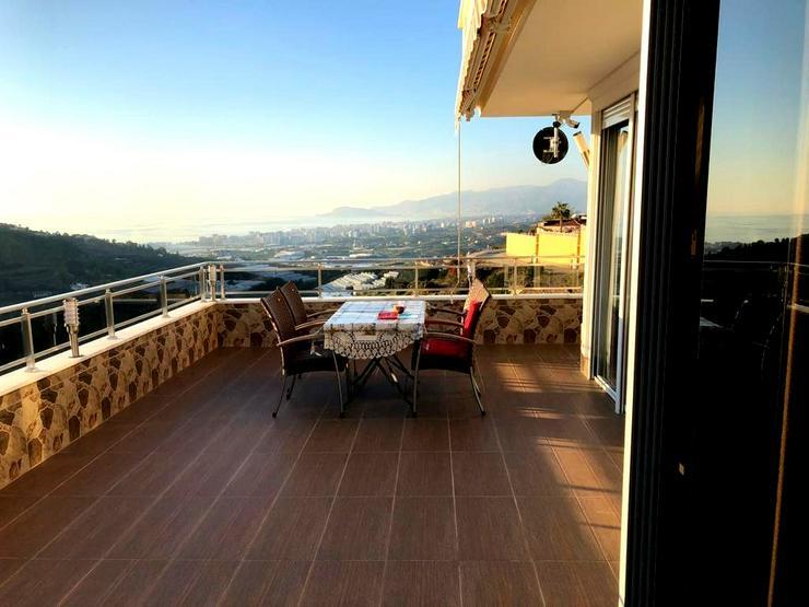 Türkei, Alanya, Kargicak. 165 m² Wohn. 3 Zi + Wintergarten, 399 ⛱ - Ferienwohnung Türkei - Bild 1