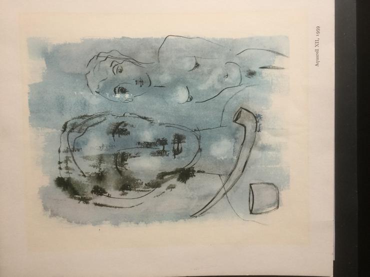 Bild 3: 3 Aquarelle von Henry Miller: Nr. II; VIII; XII