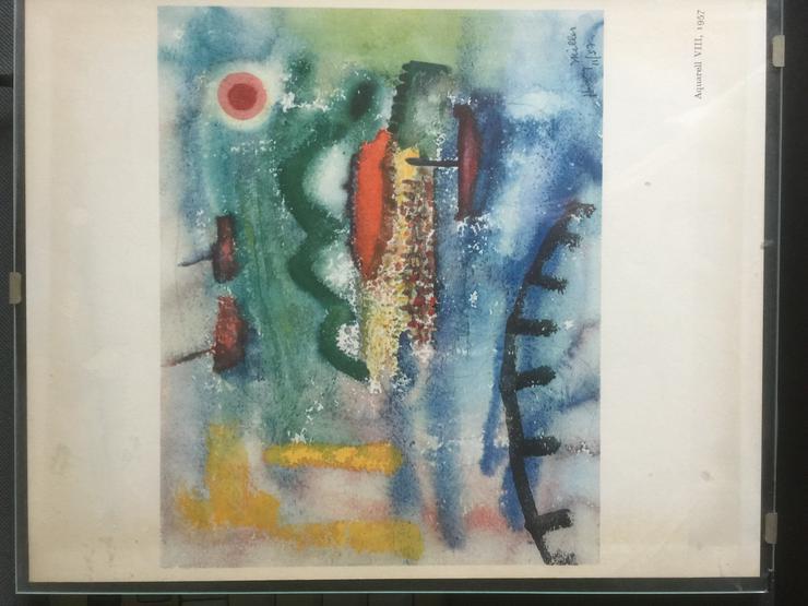 Bild 2: 3 Aquarelle von Henry Miller: Nr. II; VIII; XII