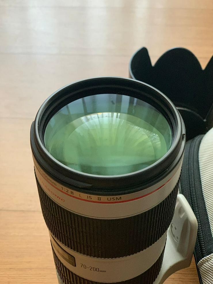 Canon EF 70-200 mm F/2.8 L USM + Canon 700D