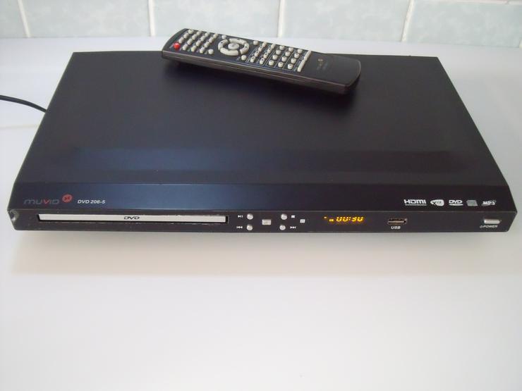 DVD Player Muvid 206-1 DviX , USB , HDMI , Full HD , Mit Fern.