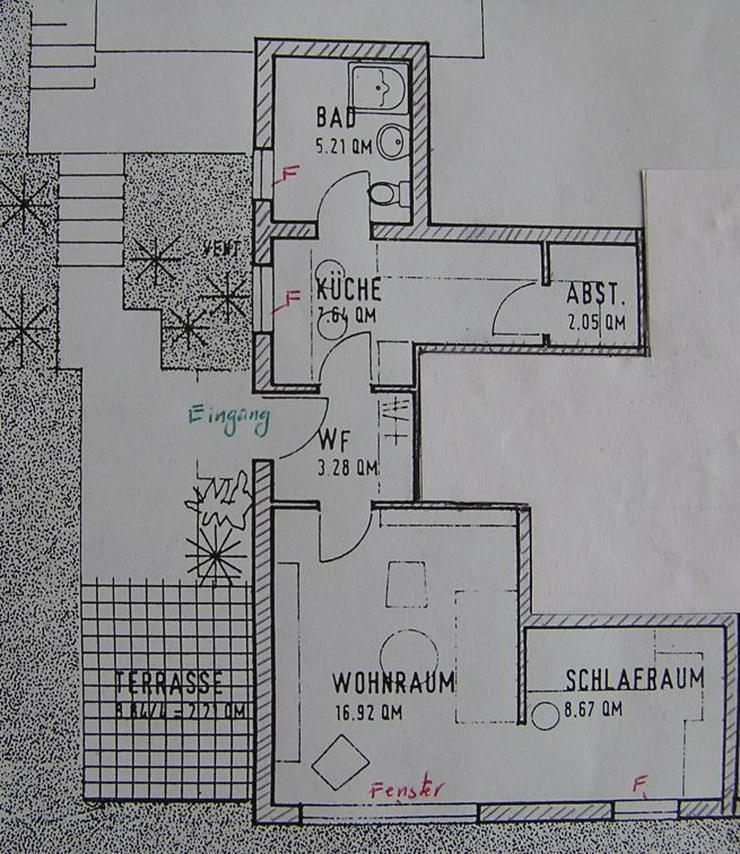 Zwei-Zimmer-Wohnung /WEIL Zweizimmerwohnung - 2 Zimmer-Wohnung