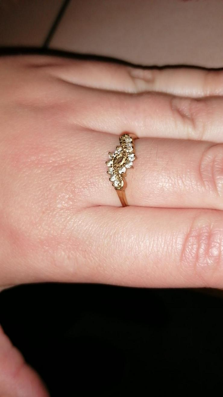 Echtgold Ring 333