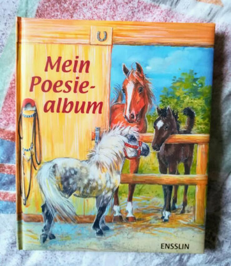 PoesiealbumPferdemotiven  Neu