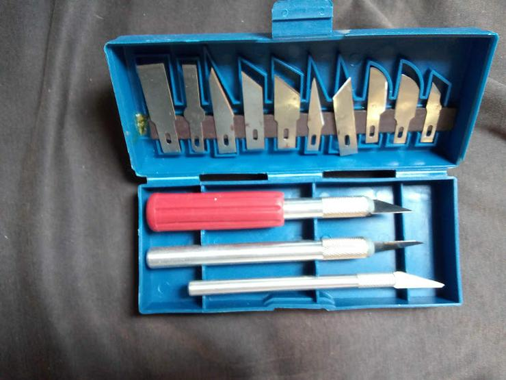 Bastellmesser -set  vollständig