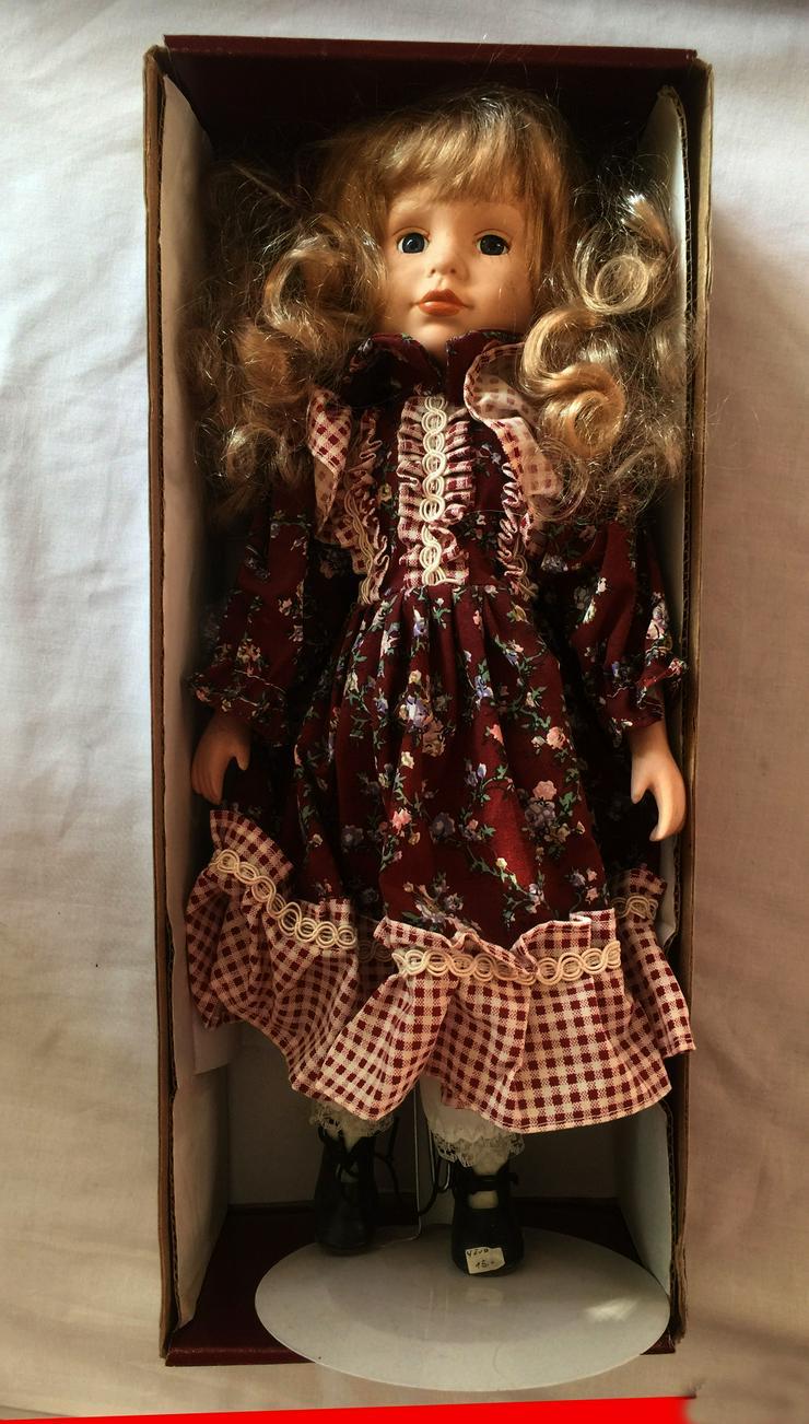 Porzelan Puppen, Deko, Original SAMMLER, KIM-Puppe ELFRIEDE