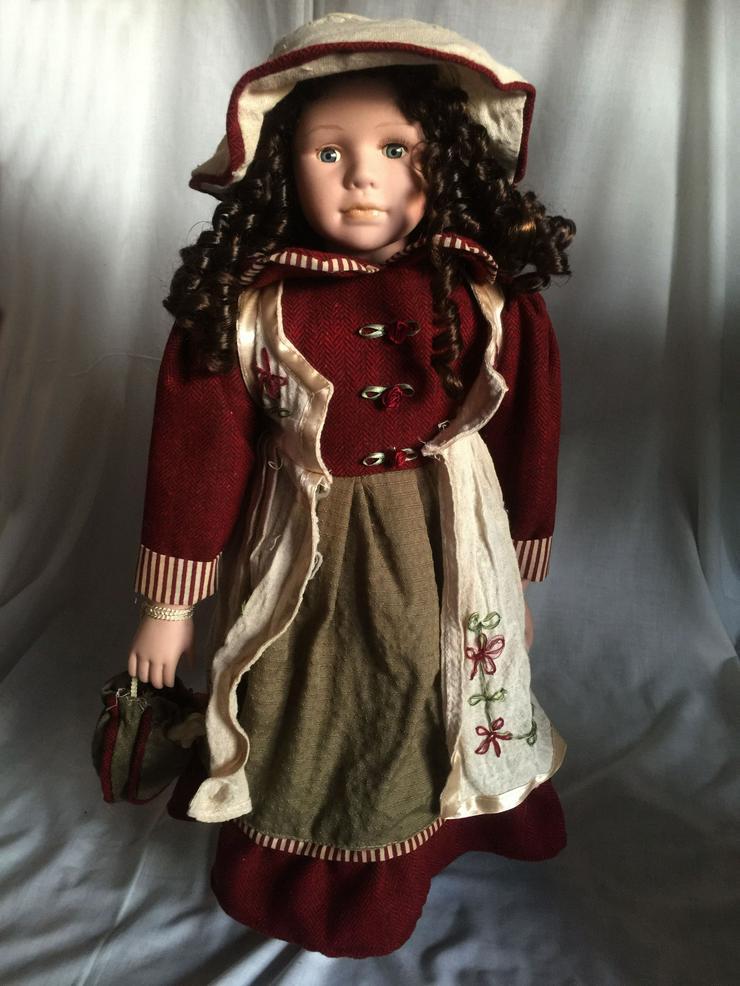 Porzelan- Puppe, Deko, Original SAMMLER, KIM-Puppe ANNETTE