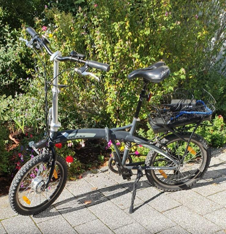 2 elektro falt Fahrräder