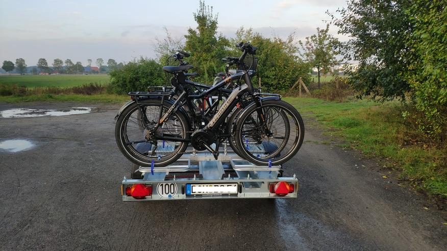 Bild 1: ⭐Fahrradanhänger für E-Bike, Motorradanhänger mieten