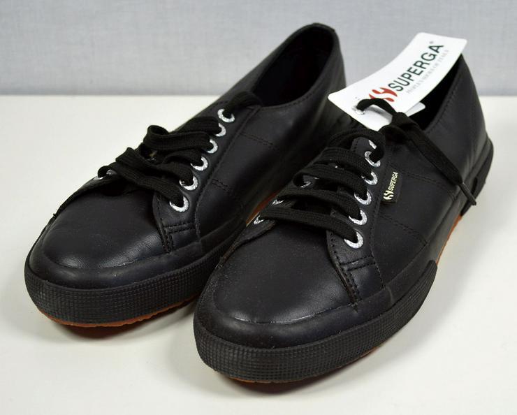 SUPERGA Unisex Leder Sneaker EUR 41 Stiefel Schuhe 30121601