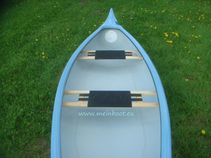 Bild 4: Kanu 3er Kanadier 500 Neu ! in hellblau /weiß