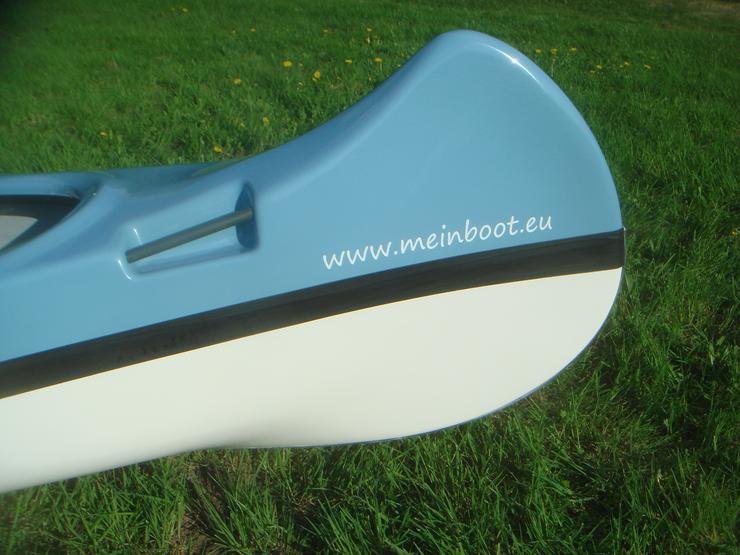 Bild 6: Kanu 3er Kanadier 500 Neu ! in hellblau /weiß
