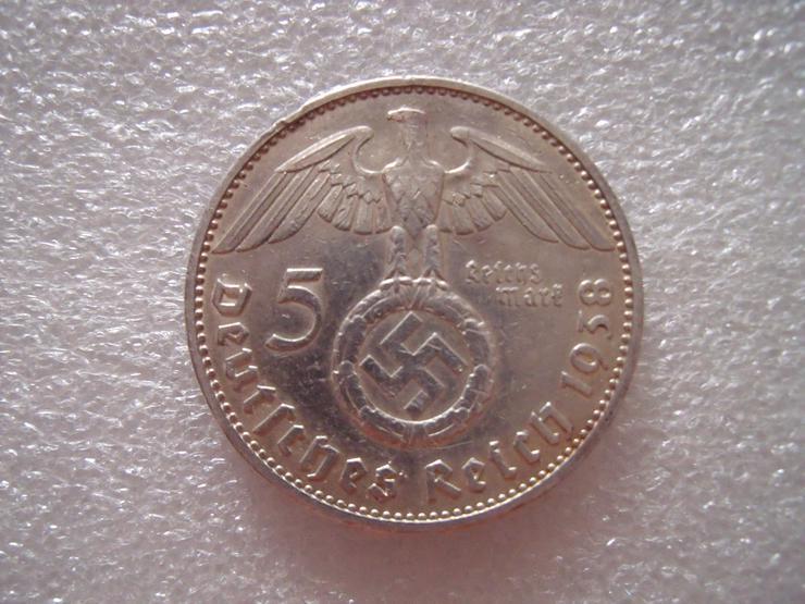 Gans  welt  Reichsmark  mit  SILBER  Verschiedene  Münze. - Deutsche Mark - Bild 3