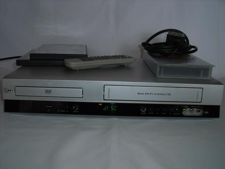 DVD / VHS-Rekorder LG - V 280 gute zustand. Mit FB.