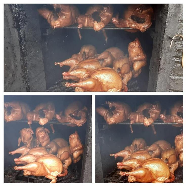 Schwein und Geflügel gebacken.gekasslert oder gegrillt