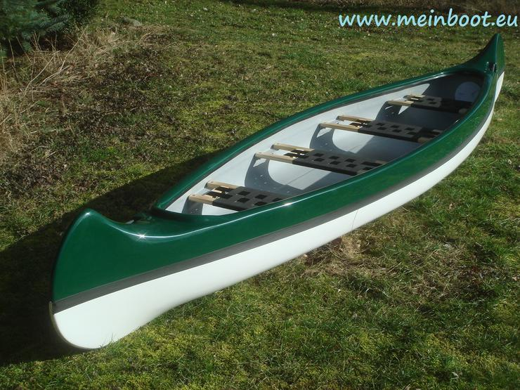 Kanu 4er Kanadier 500 Neu ! in grün /weiß