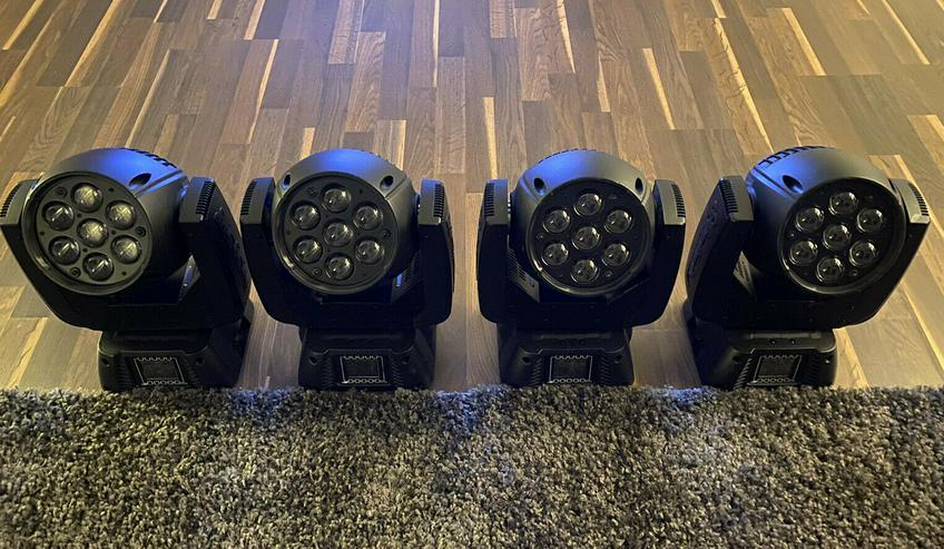 4 x Showtec Infiniti IW-720 RGBW Led