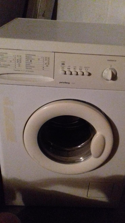 Privileg Waschmaschine 5kg Fassungsvermögen