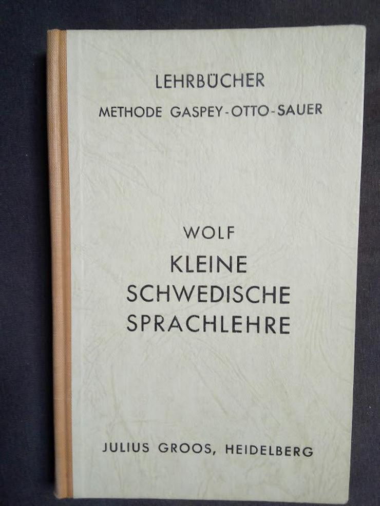 Kleine schwedische Spachlehre Lehrbuch 1957