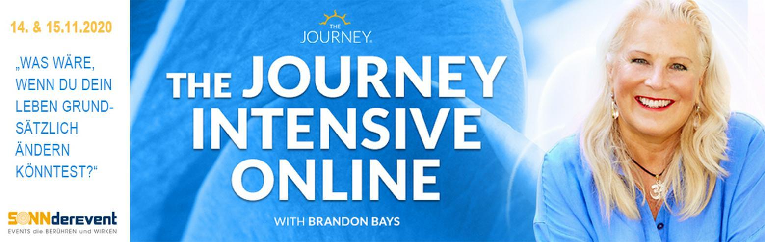 """Brandon Bays live """"Journey Intensiv"""" Online-Workshop"""