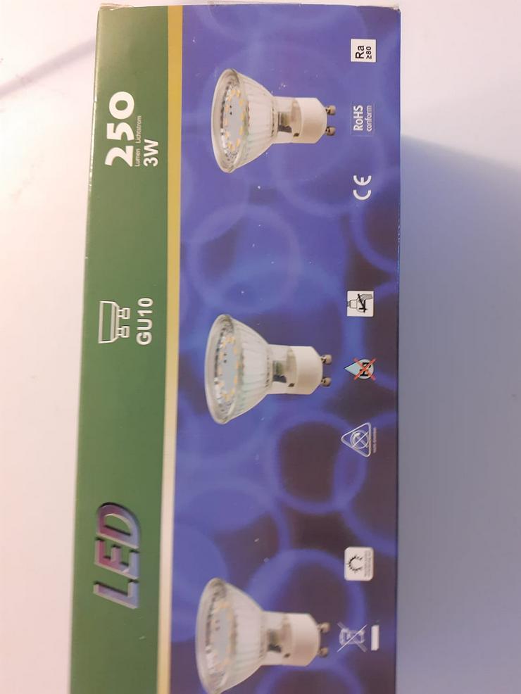 LED Reflektoren GU10  3ER Pack