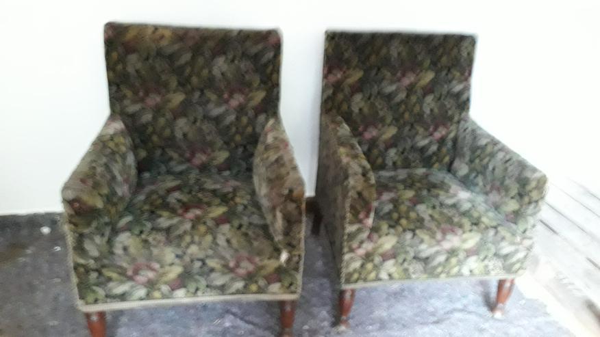 2 Sessel ca. von 1920 - Sofas & Sitzmöbel - Bild 1