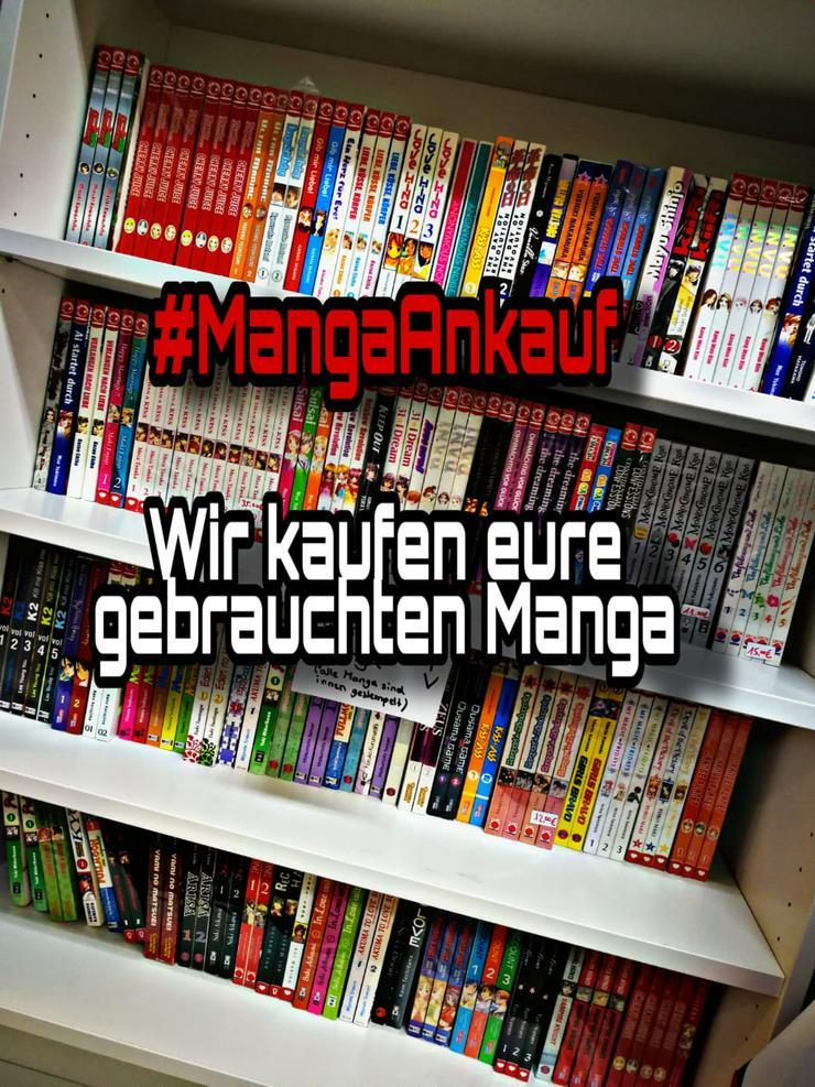 MANGA ANKAUF (Kaufen alle deutschen MANGA an)