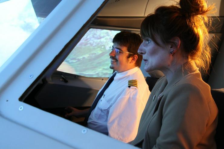 "Flugsimulator in Berlin: Als ""Pilot"" im Cockpit eines A320"