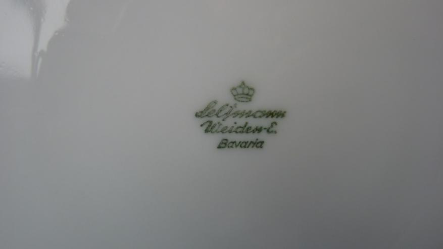 Bild 2: Kuchenplatte Rosendekor von Selfmann Weiden - Bavaria