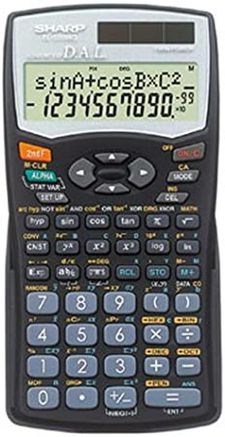 Sharp EL-520WG wissenschaftlicher Schulrechner