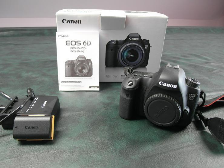 Canon EOS 6D (ohne Objektiv)