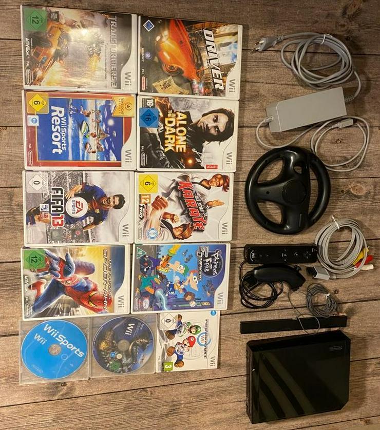 Nintendo Wii + 11 Spiele