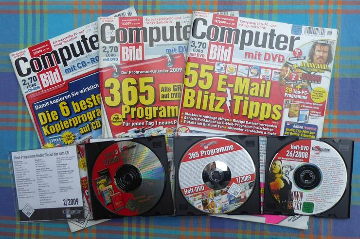 PC-Hefte für Sammler ab 0,50 € und 0,80 € CD`s