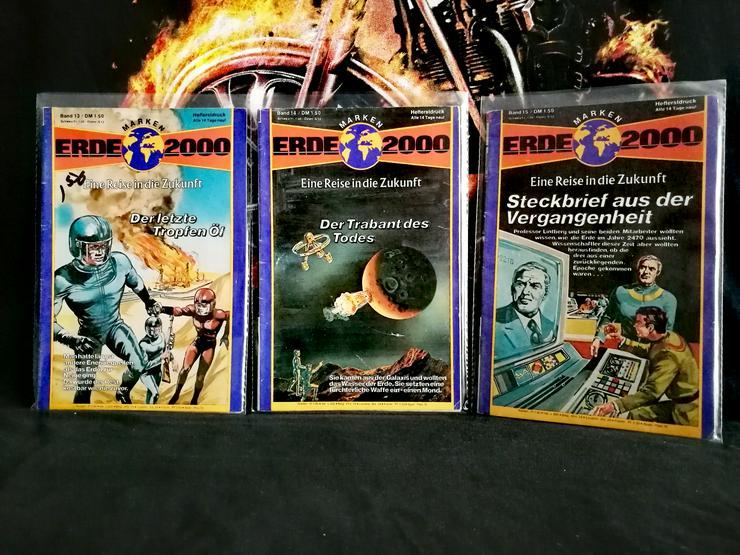 Bild 5: ERDE 2000 Romanhefte Preis siehe Liste ! aus dem Jahr 1978 .