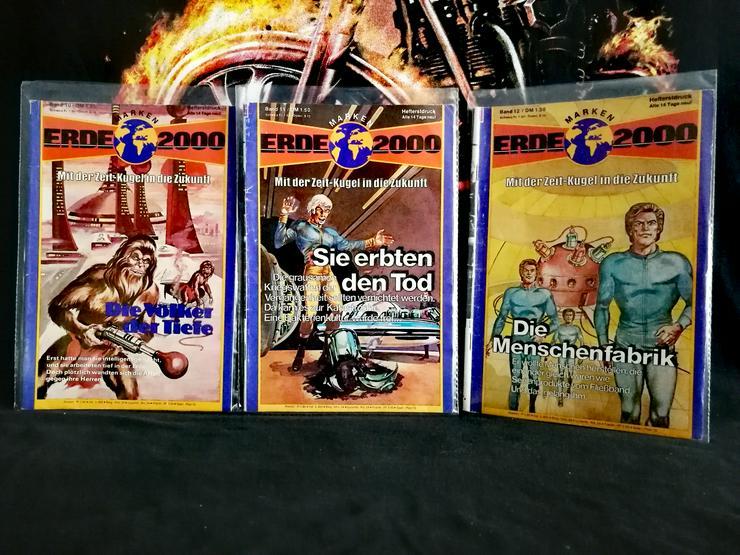 Bild 4: ERDE 2000 Romanhefte Preis siehe Liste ! aus dem Jahr 1978 .