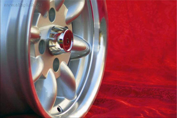 Bild 5: 4 VW Felgen Golf Polo Minilite 6x13 ET13 4x100