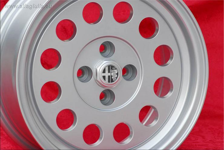 Bild 2: 4 Alfa Romeo Felgen Alfetta GTV 75 164 Felgen 7x15 TUV