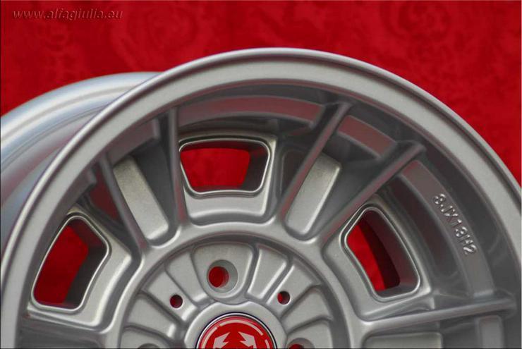 Bild 5: Fiat Cromodora CD66 Felgen 2 Stk. 7x13/2 Stk. 8x13