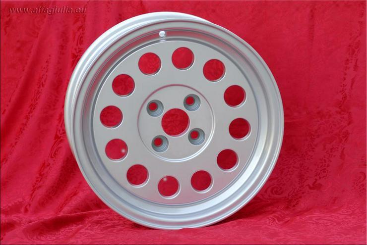 Bild 6: 4 Stk. Felgen Alfa Romeo GTV Fiat 124 131 7x15 ET25 4x98 TUV
