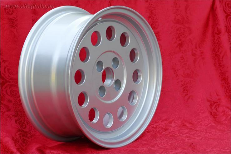 Bild 3: 4 Stk. Felgen Alfa Romeo GTV Fiat 124 131 7x15 ET25 4x98 TUV