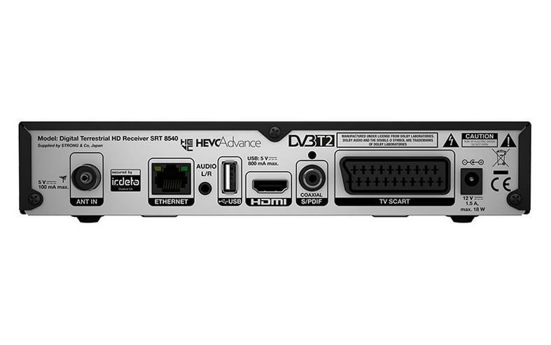Bild 2: SRT 8540 Reseiver DVBT II Gebraucht