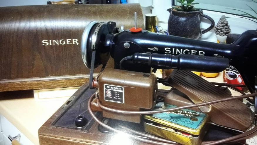Nähmaschine Singer (älteres Modell) - Basteln & Handarbeiten - Bild 1
