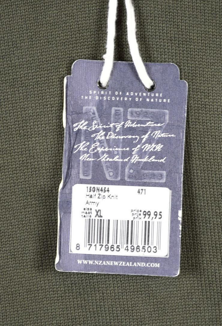 Bild 4: New Zealand Auckland NZA Gestrickte Pullover Gr.L Strick 3-1017